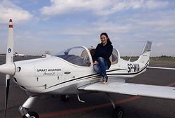 Od stewardesy do pilotki. Roksana pokazuje, że warto mierzyć wysoko