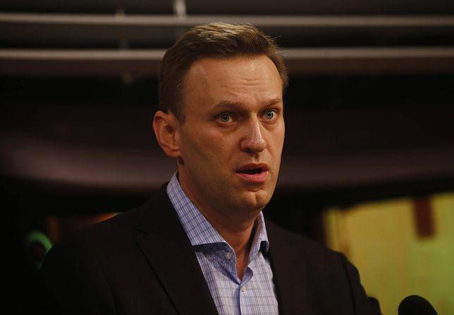 Znany opozycjonista Aleksiej Nawalny został zatrzymany w Moskwie