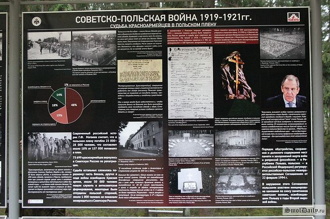 Skandal w Katyniu. Rosjanie ustawili tablice informacyjne
