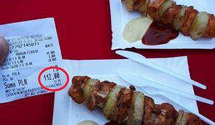 We Wrocławiu można zjeść szaszłyk z dodatkami za 112 zł