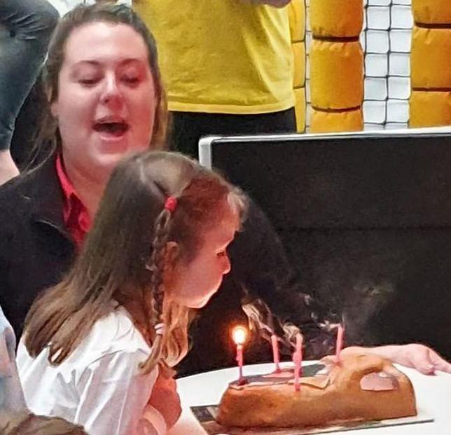 Urodziny pięciolatki z autyzmem