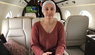 """18-letnia Julia poleciała do USA rządowym samolotem. """"Jesteśmy z tobą!"""""""