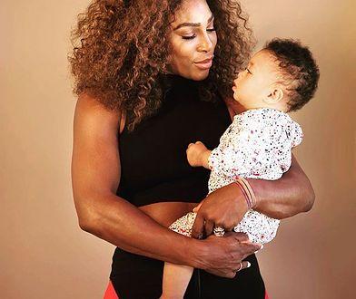 Serena Williams z córeczką