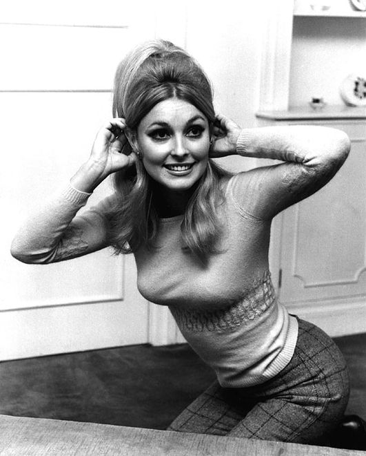 Dec 10, 1965; London, England, UK; Film star SHARON TATE photographed in London in 1965. The star of 'Valley of the Dolls' and wife of film director Roman Polanski was murdered on August 9, 1969 by members of the Manson family. She was eight months pregnant. Mandatory Credit: Photo by KPA/ZUMA Press. (�) Copyright 1965 by KPA
