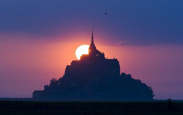 Magiczna wyspa Mont Saint-Michel