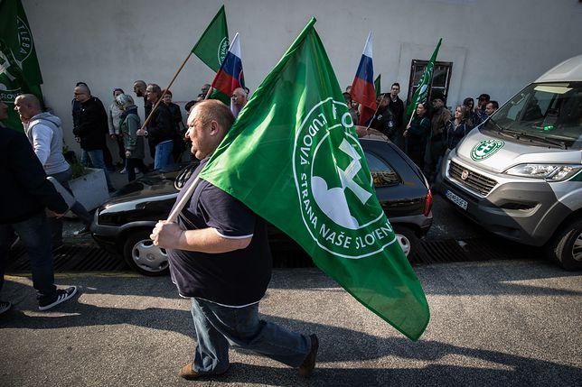 Słowacja. Neofaszyści drugą siłą tuż przed wyborami