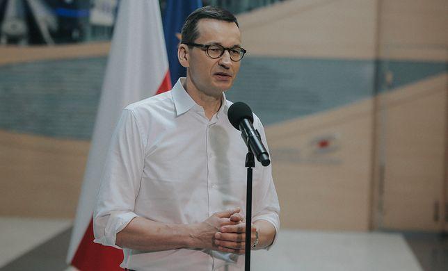 """Mateusz Morawiecki zapowiedział wprowadzenie """"restrykcyjnych kroków"""""""