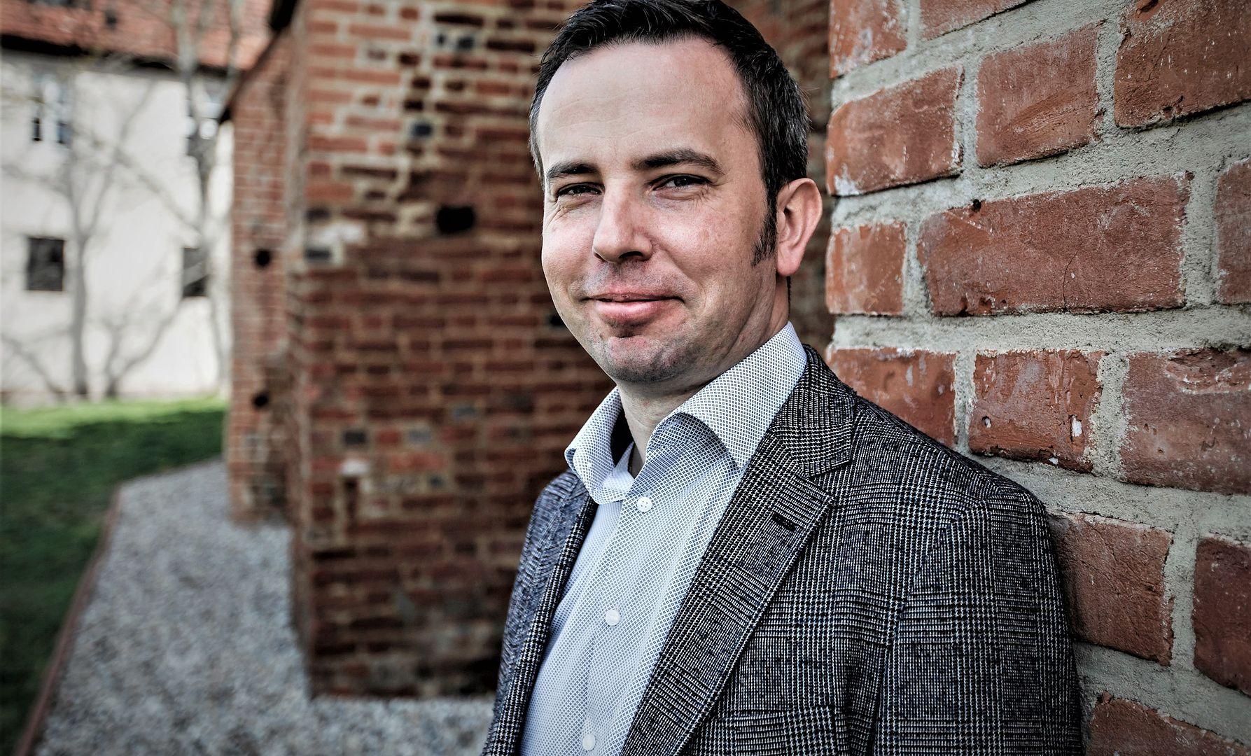 Rafał Bartek, przewodniczący Towarzystwa Społeczno - Kulturalnego Niemców na Śląsku Opolskim