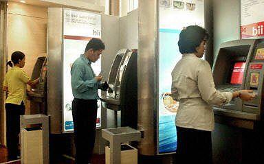 Jałmużna z bankomatu