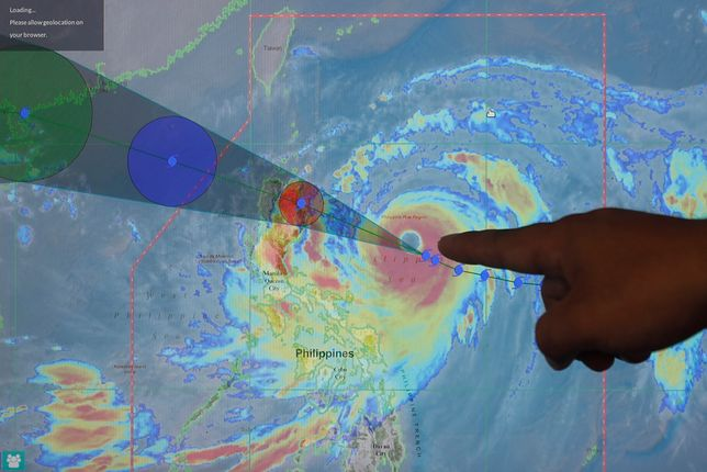 Cyklon zagraża Tajwanowi, Hongkongowi i Chinom