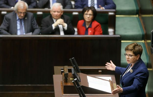 Beata Szydło: rządy PO-PSL to 8 lat państwa teoretycznego; strata 340 mld zł