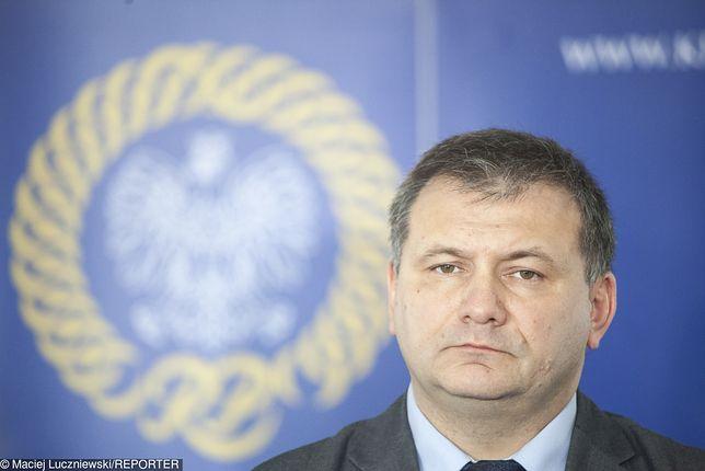 Waldemar Żurek od początku krytykował kontrolę jego oświadczeń majątkowych przez CBA