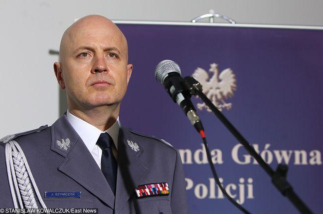 Imprezę w hotelu Hilton zorganizował komendant główny policji Jarosław Szymczyk