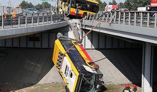 Warszawa. Wypadek autobusu na trasie S8. Jest akt oskarżenia przeciw kierowcy