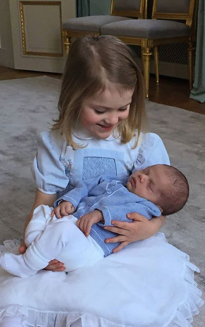 Księżniczka Estelle i książę Oskar