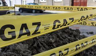 Samborowo. Doszło do uszkodzenia gazociągu. Trwa ewakuacja