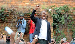 RPA: biali farmerzy stracą ziemię za bezcen. Na zdjęciu: przewodniczący Economic Freedom Fighters, Julius Malema