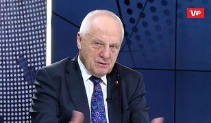 Stefan Niesiołowski o wspólnym locie Wałęsy i Dudy do USA: wolałbym pieszo iść do Ameryki