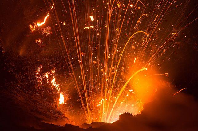Podróż do wnętrza wulkanu