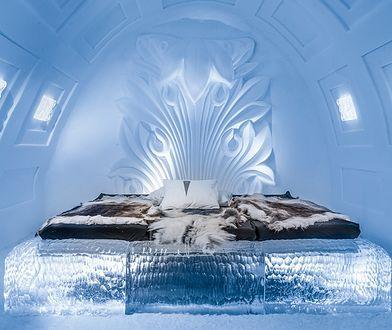 Jeden z pokoi stworzonych przez Polaków w Icehotelu