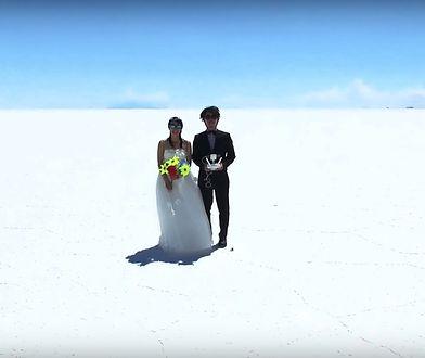 Kaz i Mariko Yamaguchi – on, ona i dron w niezwykłej podróży poślubnej