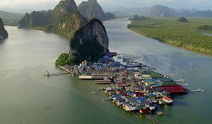 Ko Panyi - wioska na palach w Tajlandii