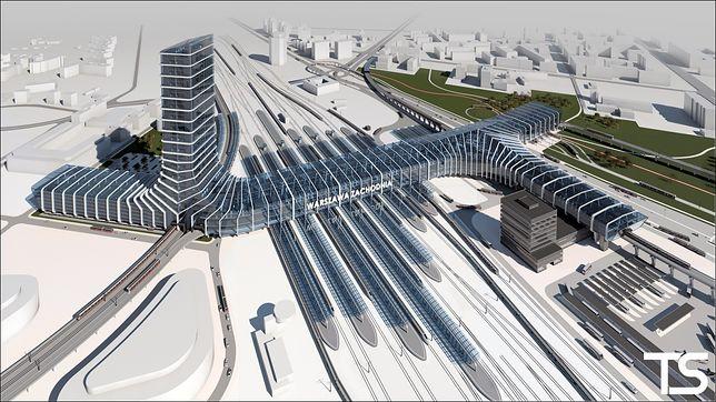Dworzec Zachodni - wizualizacje