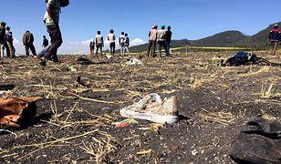 Samolot rozbił się 10 marca.
