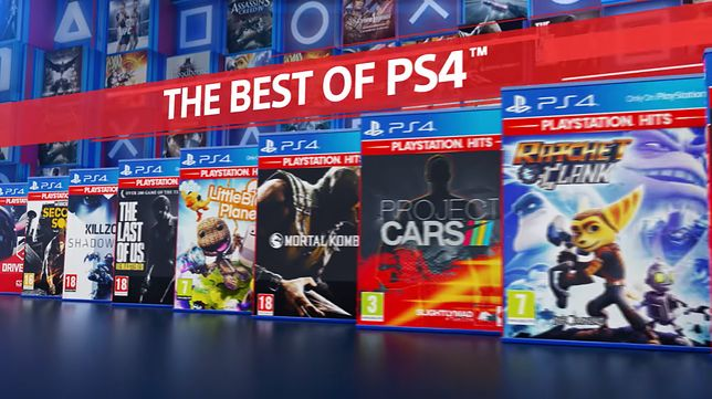 PlayStation Hits, czyli promocja na hity od Sony. Najlepsze produkcje na konsolę PS4 w niskich cenach