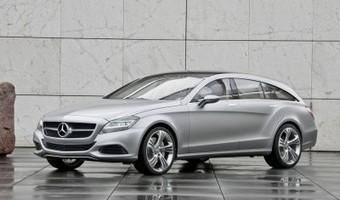 Nadjeżdża Mercedes CLS w wersji coupe-kombi