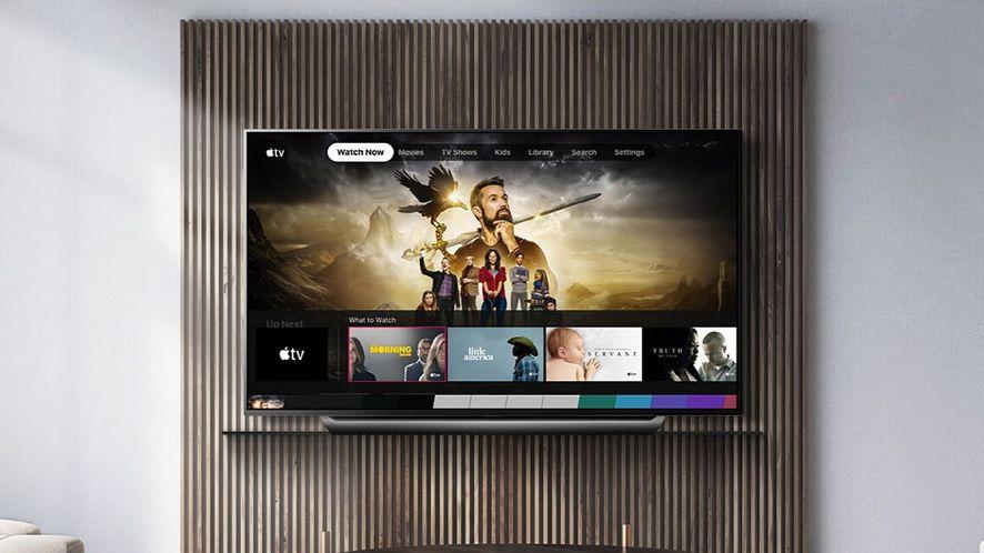 Aplikacja Apple TV trafia na telewizory LG OLED i LCD, fot. LG
