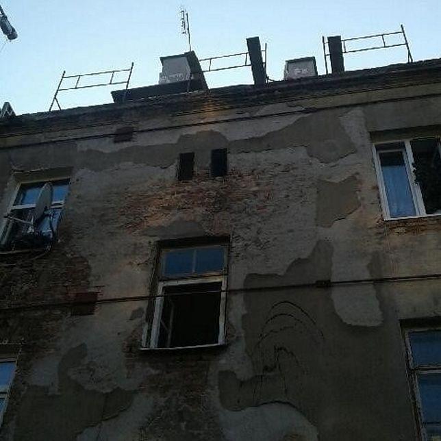 Warszawa. Do zdarzenia doszło w kamienicy przy ul. Radzymińskiej