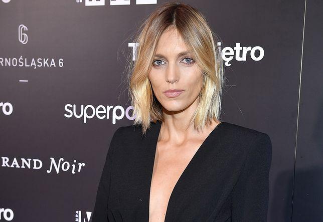 Anja Rubik podarowała okładki Vogue'a na WOŚP