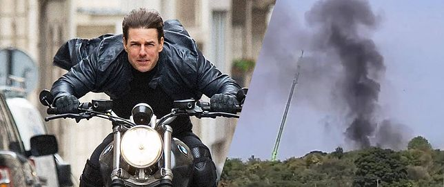 Tom Cruise znany jest z tego, że sam wykonuje wiele akrobacji. Na szczęście dla siebie tego dnia nie było go na planie