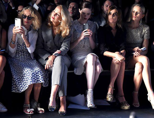 Moda na przekór według Jerry Hall