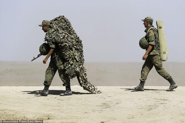 Manewry rosyjskich desantowców przy granicy z Polską. Ćwiczą likwidację przeciwnika