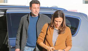Ben Affleck i Jennifer Garner pokłócili się na ulicy. Byli małżonkowie spędzali razem święta