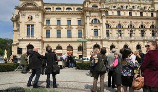 Ludzkie kości odkryte w centrum Krakowa. Podczas przebudowy pl. św. Ducha