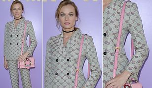 Diane Kruger na Paris Fashion Week