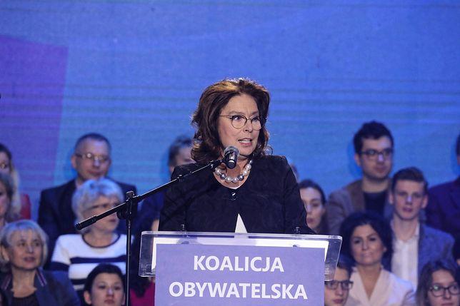 O sprawie zaalarmowała Małgorzata Kidawa-Błońska