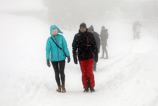 Pogoda. Zamiecie śnieżne w górach
