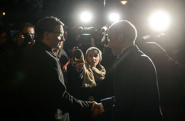 Zbigniew Ziobro i Borys Budka, 2015 rok. Obecny i były minister sprawiedliwości.