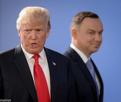 Decyzja Trumpa o odwołaniu wizyty w Danii mogła skonsternować Andrzeja Dudę