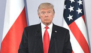 Prezydent Donald Trump zamierza ogłosić w Warszawie nominację Polski do programu ruchu bezwizowego z USA