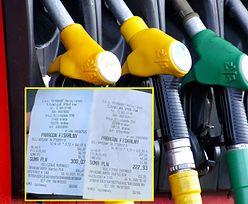 Pokazał rachunek za paliwo z 2020 i 2021 roku. Prawdziwy paragon grozy