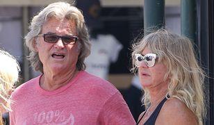 Kurt Russell i Goldie Hawn w Saint Tropez. Są razem od 36 lat