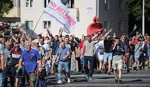 Strajk generalny na Białorusi. Protestują też dziennikarze publicznych mediów