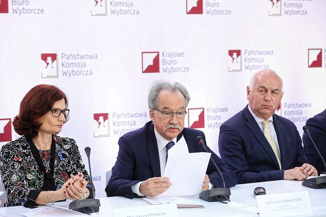 Przewodniczący PKW Wojciech Hermeliński poinformował o frekwencji w II turze wyborów samorządowych