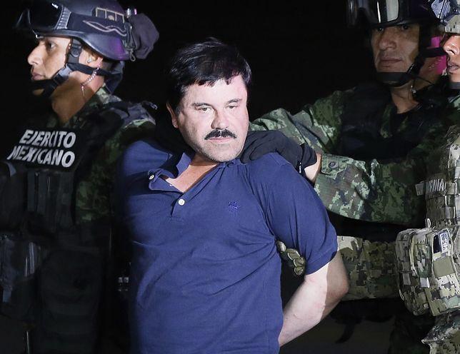 """""""El Chapo"""" - dzisiaj w USA rusza proces jednego z najpotężniejszych meksykańskich baronów narkotykowych"""
