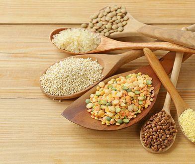 Dieta makrobiotyczna opiera się między innymi na prouktach z ziaren zbóż.
